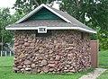 Auburn, NE Legion Park men's restroom 2.JPG