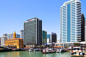 Auckland Downtown Waterfront