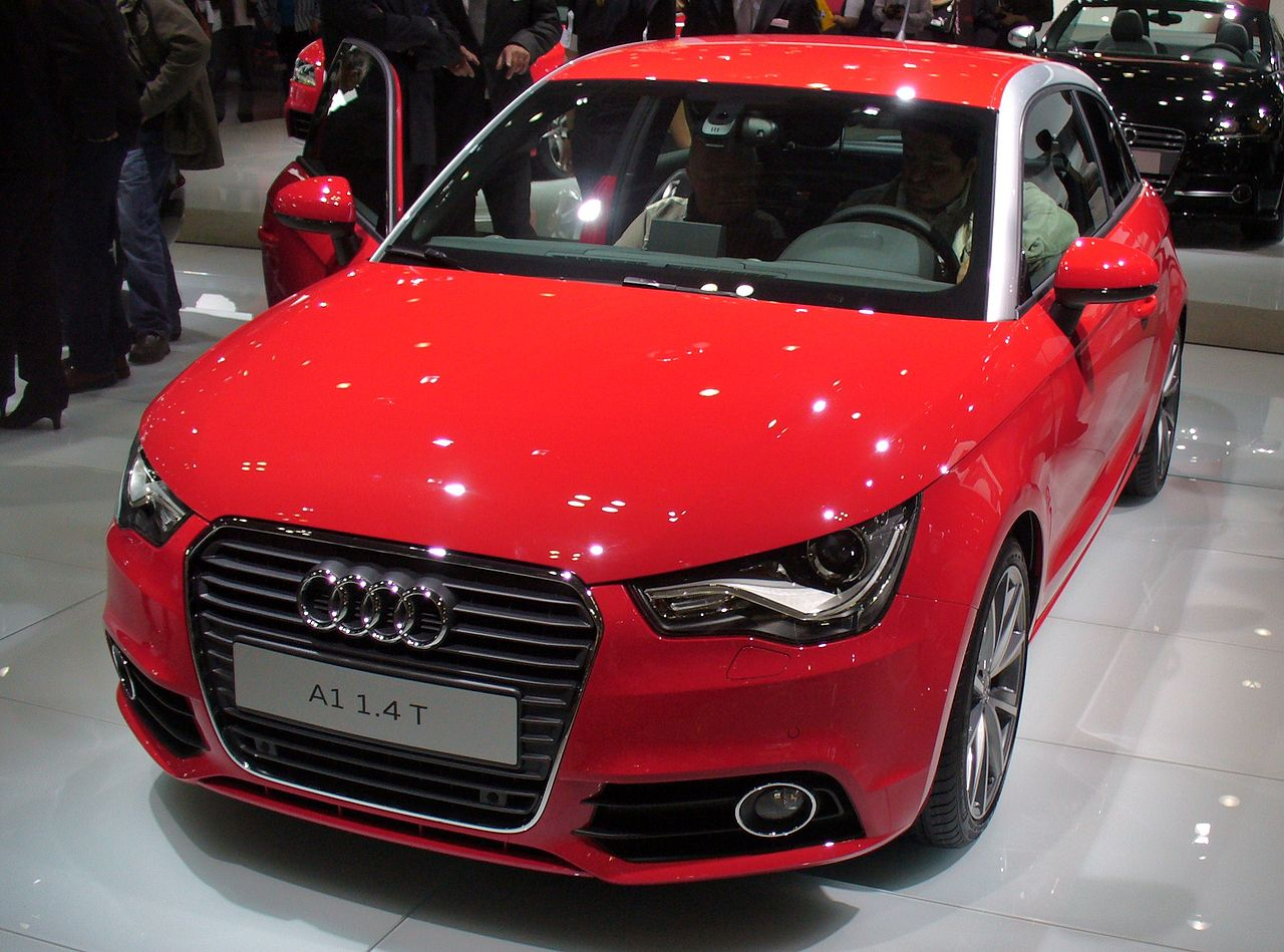 File audi a1 1 4 t front jpg wikimedia commons for Wikipedia audi a1