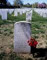 Audie Murphy's gravesite, Arlington National Cemetery, Arlington, Virginia LCCN2011630610.tif