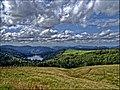 Aussicht von der Ferme Auberge Breitzhousen auf den Lac de la Lande, La Bresse, Lothringen, France - panoramio.jpg