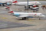Austrian Airlines, OE-LFQ, Fokker F70 (30633335313).jpg