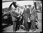 Autogiro delivered to Commerce Dept., Washington, D.C., Oct. 2. A new type autogiro, capable of being driven on highways as well as being flown in the air, was delivered to the Bureau of Air LCCN2016878612.jpg