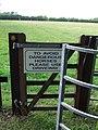 Avoid Horses - geograph.org.uk - 1413918.jpg