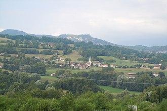 Avressieux - A general view of Avressieux