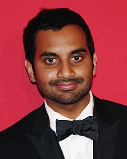 Aziz Ansari American actor and comedian