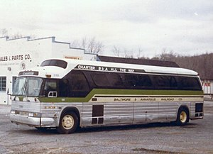 GM Buffalo bus - Image: B&A 2103 Pitman, NJ March 1983