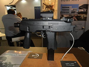 Brügger & Thomet MP9 - Image: B&T MP9 SMG