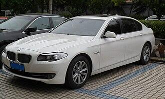 Brilliance Auto - A BMW 5-Series LWB produced by BMW Brilliance