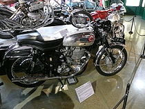 BSA Gold Star uit 1956