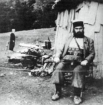 Baba Faja Martaneshi - Baba Faja Martaneshi in 1944