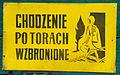 Bachórz, železniční muzeum, chození po kolejích zakázané.jpg