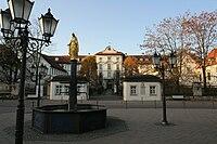 Bad Wurzach - Schloss und Stadtbrunnen.jpg