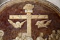 Badia a settimo, refettorio dell'abate, crocifissione di agnolo gaddi, 03 agnus dei.jpg