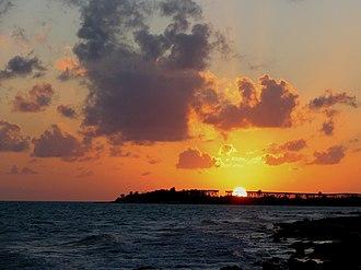 Bahia Honda Key - Image: Bahia Honda Sunset
