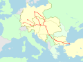 Balkanzug route.svg