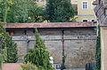 Bamberg, Obere Karolinenstraße 6, Mauer zur Aufseßstraße, von Norden, 20150918-001.jpg