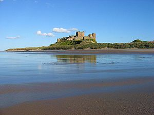 Northumberland Coast - Bamburgh Castle on the Northumberland Coast