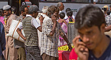 Bangalore 2 guys on cellphones November 2011 -37.jpg