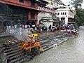 Bank of Bagmati River near Pashupatinath Temple 02.jpg