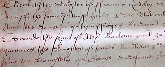 Church of St James, Didsbury - Baptism Record of Ambrose Barlow