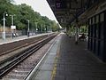 Barnes station fast eastbound look east.JPG