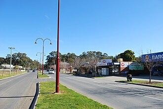 Barooga - The main street of Barooga.