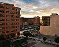 Barrio de Zafra (Huelva), al atardecer..jpg