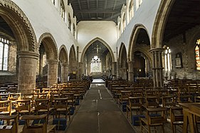 Barton-Upon-Humber, St Mary's church interior (27049984759).jpg