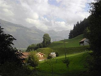 Bas-Intyamon - Landscape at Bas-Intyamon