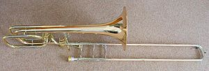 300px Bass_trombone types of trombone wikipedia
