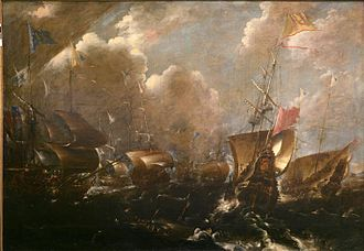 Battle of Getaria - Image: Bataille navale de Guetaria 1638