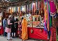 Bazaar in the evening, Pushkar Fair 2019 (49147091372).jpg