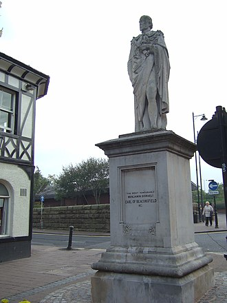 Ormskirk - Image: Beaconsfield monument