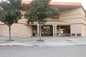 Kern County Library - Beale Memorial Library Entrance