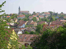 Vue de la ville de Beaucourt