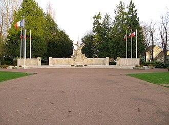 War memorials (Oise) - The war memorial at Beauvais