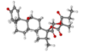 Beclomethasone ball-and-stick.png