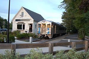 Minuteman Bikeway - Image: Bedford Depot Park