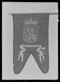 Begravningsbanér, Storfinland, fört i Karl X Gustavs begravningståg 1660 - Livrustkammaren - 78899.tif
