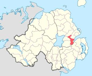 Belfast Upper - Image: Belfast Upper barony
