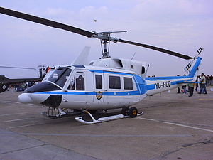 Serbian police helicopter unit - Bell 212