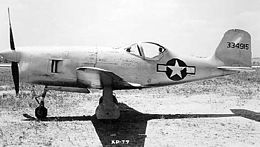 Bell XP-77 side view.jpg