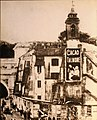 Bell tower of San Nicola in Arcione ca. 1900s by unknown photographer.jpg