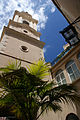 Bell tower of the Cathedral of St. Mary the Crowned from its courtyard.jpg