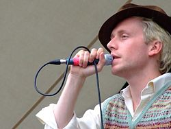 Ben Hudson -Mr Hudson and The Library -July 2007.jpg
