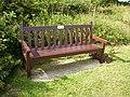 Bench in memoriam to David Bradley - geograph.org.uk - 213860.jpg