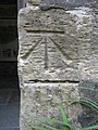 Bench mark on St Andrew's, Dent - geograph.org.uk - 1378625.jpg