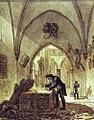 Benjamin Zix - Vivan Denont devuelve los restos del Cid a su tumba.jpg