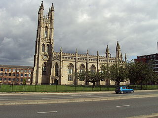 Church of St George, Chester Road, Hulme church in Manchester, UK